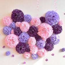 Diy Flower Balls Tissue Paper 1pcs 4 6 8 10 12 Inch Pom Pom Tissue Paper Flower Balls For Wedding Party Decoration Diy Craft Paper Flowers Home Decor Supplies