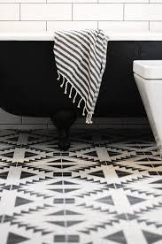 modern white tile floor. Black \u0026 White Southwest Modern Tile Floor // Bathroom I