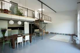 Therefore, they are determined in three different areas: the one below the  loft, the real one of the mezzanine and the full height area.