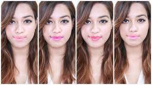 lakme 9 to 5 primer matte lipstick swatches debasree banerjee