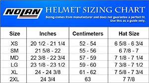 Nolan N104 Size Chart Nolan N104 Outlaw Helmet Black Xxx Large Amazon In Car