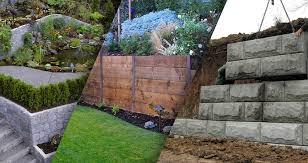 concrete retaining wall vs timber retaining wall