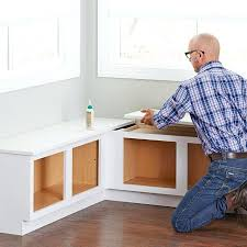 nook bench with storage glue the tops to the corner cabinets breakfast nook with storage bench nook bench with storage
