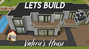 🎥 LETS BUILD: VALERIE'S HOUSE - Stacie Sims Freeplay 🏡 - YouTube