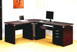 l desk office. Curved Executive Desk Office Shaped Glass L Home Corner Beech Cantilever P