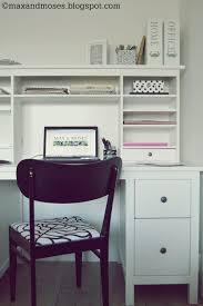 max moses the blog office corner ikea hemnes desk black and
