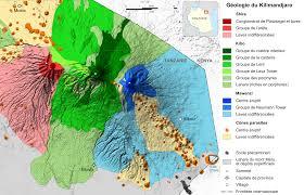 filemount kilimanjaro geology mapfrsvg  wikimedia commons