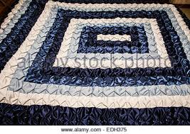 Amish Quilt Lancaster County Pennsylvania Stock Photo, Royalty ... & ... Amish quilt handmade in Lancaster County, Pennsylvania, USA, abstract  pattern - Stock Photo Adamdwight.com