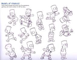 The Art Of The Simpsons 40 Original Model Sheets Tutorials в