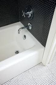 black stuff in shower best black and white bathrooms images on bathroom home plan ideas