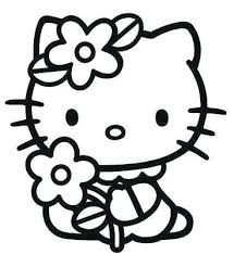 Coloring Pages To Print Of Hello Kitty Anneliesedalabaorg