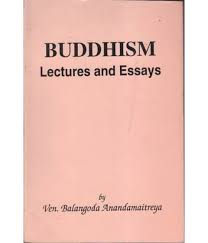 buddhism lectures and essays