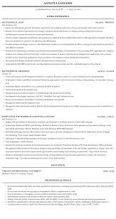 Sap Basis Sample Resume Sap Technical Resume Sample Mintresume