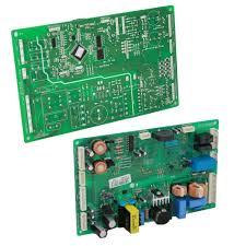 lg refrigerator control board. this refrigerator diy repair guide shows how to replace an electronic control board in bottom-freezer and side-by-side refrigerators. lg r