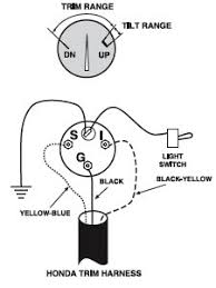 troubleshooting teleflex engine trim gauges engine trim systems suzuki 2 stroke outboards
