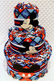 Special Event Cakes  Nildau0027s Party CreationsBaby Mickey Baby Shower Cakes