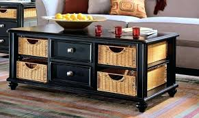 coffee table with storage baskets coffee table with storage baskets white rectangular under coffee table storage coffee table with storage