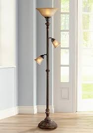 torchiere table lamp. Italian Bronze 3-in-1™ Torchiere Floor Lamp Table E