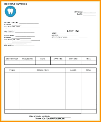 Dental Invoice Template Awesome Form Payment Voucher Template Doc Word Partial Receipt Sample For