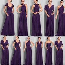 cheap 2015 long chiffon bridesmaid convertible dresses floor