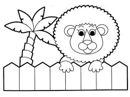 Free Coloring Pages Of Zoo Animals Classic Style Printable Free
