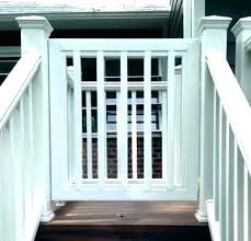 gate outdoor baby stairs for decks and porches deck building outdoor baby gate