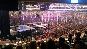 concert seat view for wells fargo center club box 22