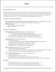Proper Resume Format Perfect Resume
