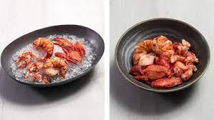 preparing cooked lobster s