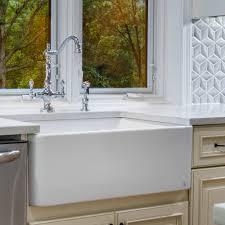 Fireclay Butler 295 L X 185 W Farmhouse Kitchen Sink