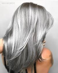 Super Sexy Silver Gray Hair By
