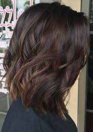 Medium Dark Brown Hair With Subtle