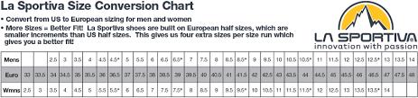 Zappos Conversion Chart La Sportiva Miura Zappos Com