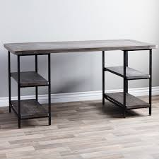 metal office desks. renate reclaimed wood and metal office desk desks s