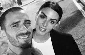 Who is Leonardo Bonucci's wife Martina Maccari and how long have the pair  been married?