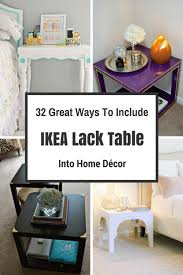 include ikea lack table into