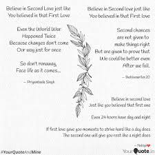 Second Love Quotes Stunning Believe In Second Love Ju Quotes Writings By Rohan Tiwary