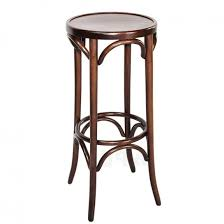 Colour Bentwood Bar Stool By Michael Thonet Walnut Thonet Bar Stool E92