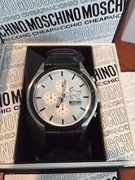 moschino watch moschino cheap and chic unisex watch w display box