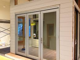 Decorating marvin sliding patio doors images : Showroom Addition: Marvin Bifold Door with Contemporary Panel - OT ...