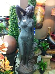 trees and trends furniture. cast stone tuscan lady garden sculpture at trees n trends and furniture