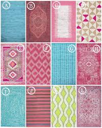 girl bedroom rug ideas