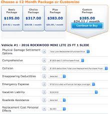 How Much Does Travel Trailer Insurance Cost Camper Report Impressive Progressive Insurance Quote