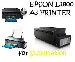 A3+ borderless photo printing epson l1800. Epson L1800 Sublimation Printer Epssn L1800 Rs 32500 Piece 99sublimation Id 15407667991