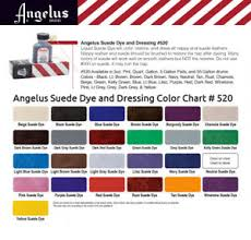 Fiebings Suede Dye Color Chart Details About Angelus Suede Dye 3oz Dauber 4 Applicator All Colors Shoes Boots Bags Fast Ship