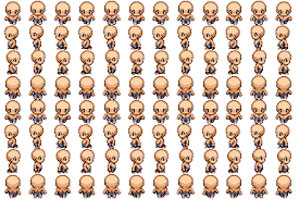 Pixel Character Template List Of Rpg Maker Vx A Character Templates