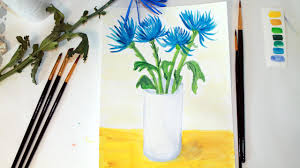 Learn To Paint Flowers In Gouache For Beginners Easy And Fun