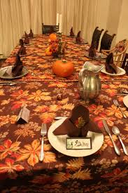 decoration best accessories plus contemporary furniture brown warm thanksgiving table setting ideas for