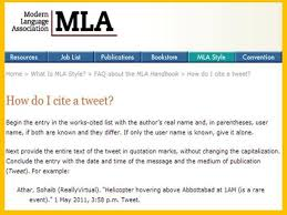 How To Cite A Tweet Using The Mla Format Citing Sources