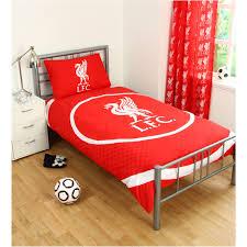 Liverpool Fc Bedroom Wallpaper Single Football Duvet Cover Bedding Sets Official Arsenal Man